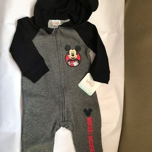 Baby boys Mickey Mouse romper